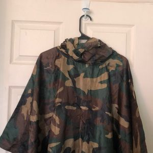 Other - Camouflage rain poncho